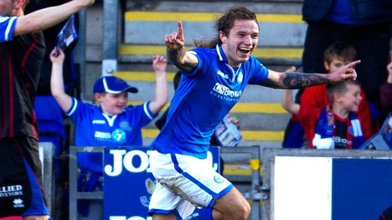 Stevie May: Player of the Month for October