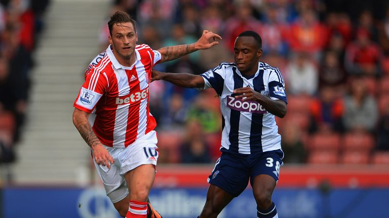 Stoke and West Brom both battled to a 0-0 draw