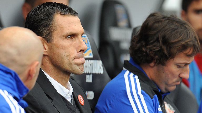 Gus Poyet: Says his Sunderland side needs to improve mentally
