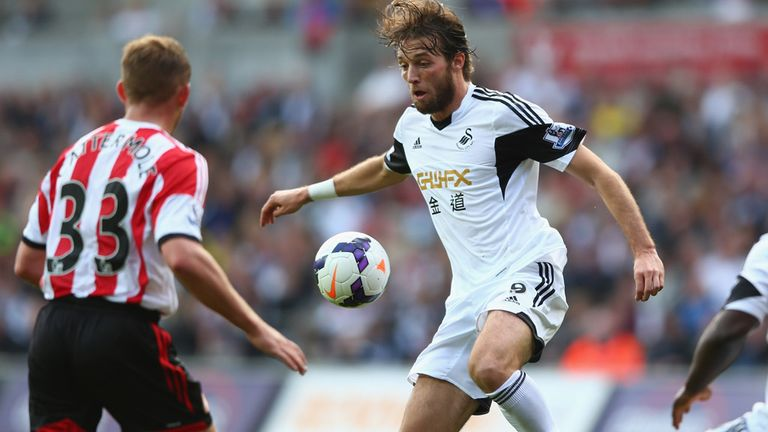 Michu: Struggled to replicate last season's goalscoring form