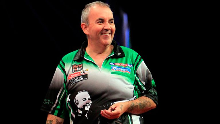 Phil Taylor: Safely over first hurdle in the World Grand Prix