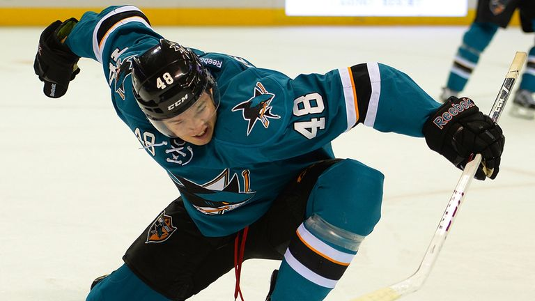 Tomas Hertl: Rookie bagged seventh goal of the season