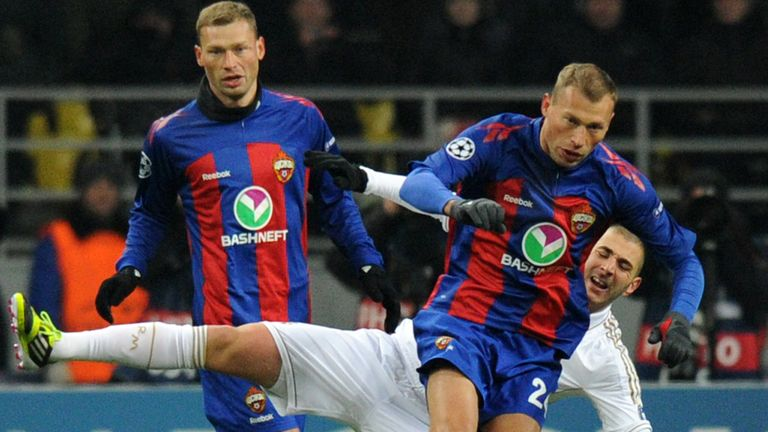 Aleksei (l) and Vasili Berezutski (r) have been at CSKA for more than a decade in their careers