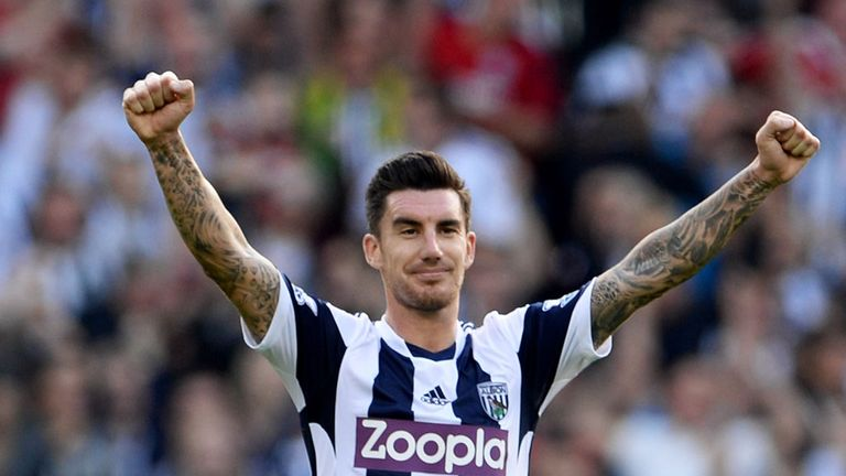 Liam Ridgewell: Believes West Brom will stay up if they turn draws into wins