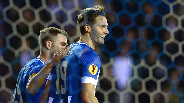 Nick Powell: Scored two for Wigan