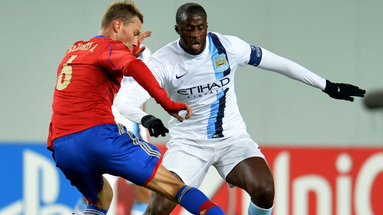 Yaya Toure was racially abused during the CSKA Moscow match