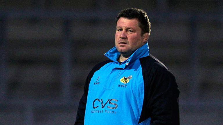 Dai Young: Lamented the number of mistakes from his Wasps in the cup defeat