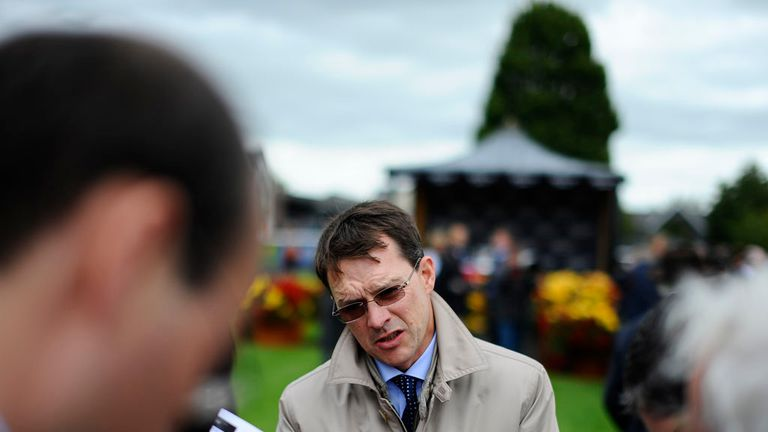 Aidan O'Brien: Is mob handed with top horses in Doncaster this weekend.