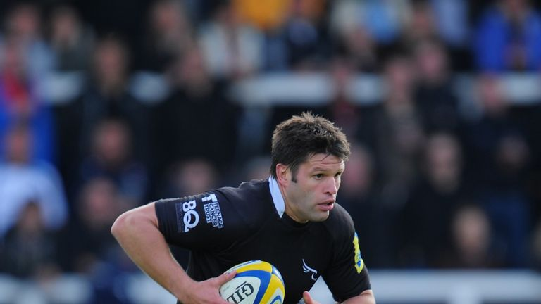 Ally Hogg: Has been named as Newcastle's captain for Sunday's fixture against London Irish