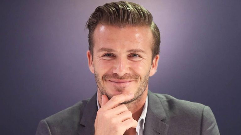 David Beckham: Slipped into retirement at the end of the 2012/13 campaign