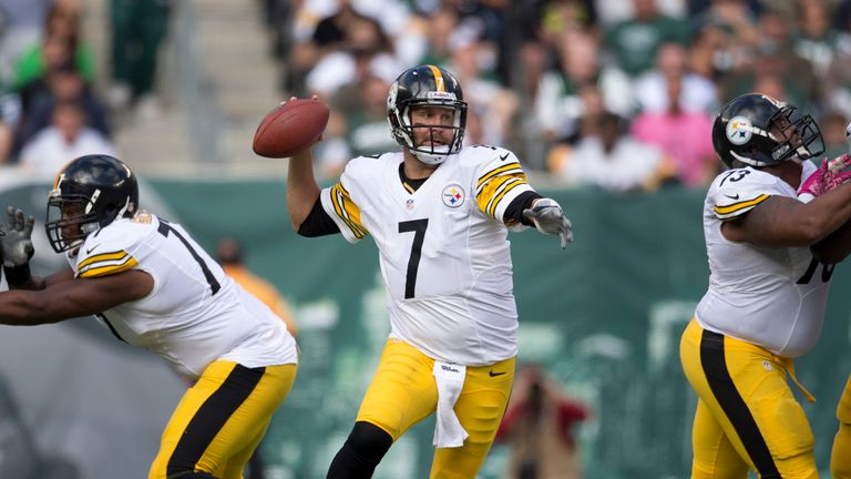 Ben Roethlisberger had a clean game for the Steelers