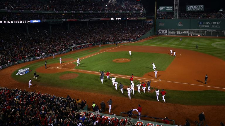Fenway Park is home to Boston Red Sox, winners of eight World Series
