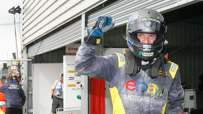Colin Turkington: took pole position