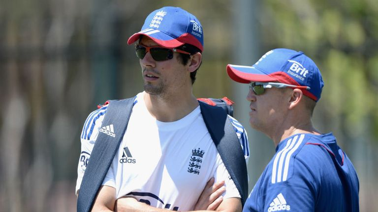 Alastair Cook and Andy Flower plot a Perth-ect response at the WACA