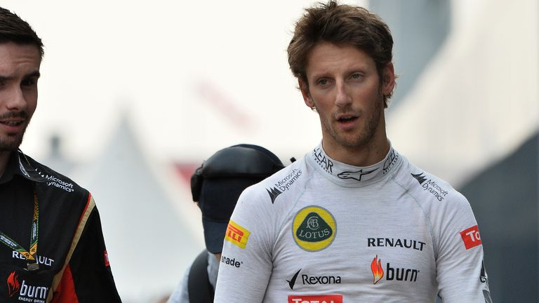 Romain Grosjean: An unusually strong start to the weekend for Lotus