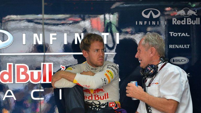 Sebastian Vettel: Fastest despite a problematic session