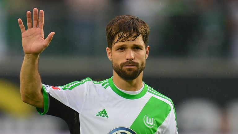 Diego: Brazilian playmaker has been linked with a move away from Wolfsburg