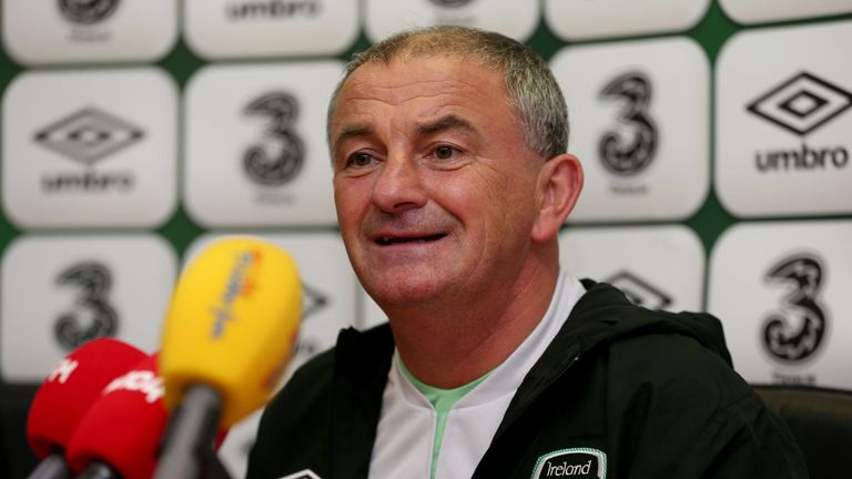 Noel King: Feels Ireland are under pressure to beat Kazakhstan