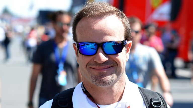 Rubens Barrichello: Was linked to Sauber seat