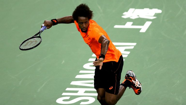 Gael Monfils: Lost the first set tie-break in his opening match to love