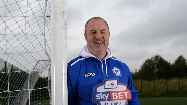 Keith Hill: Sky Bet's League 2 Manager of the Month