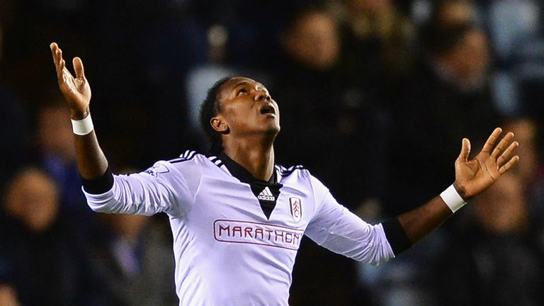 Hugo Rodallega: Fulham striker faces up to six weeks out with a groin injury