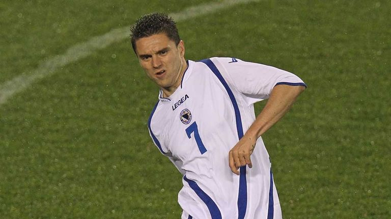 Sanel Jahic: Bosnia defender on trial with St Johnstone