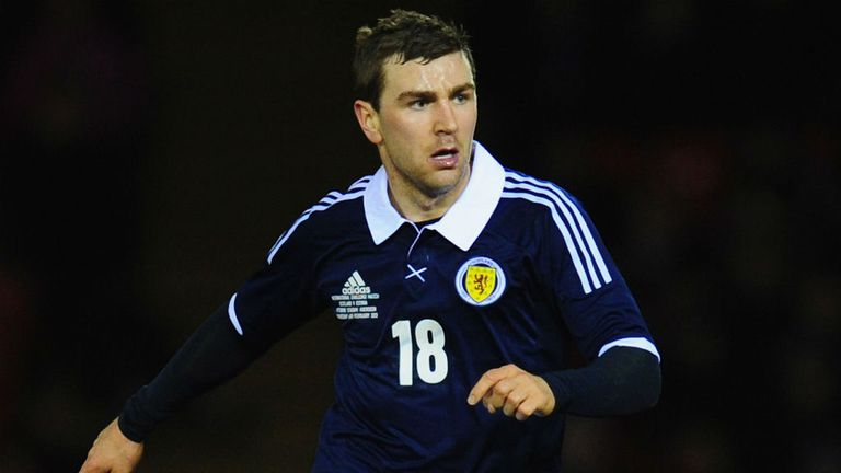 James McArthur: Has high hopes for Scotland