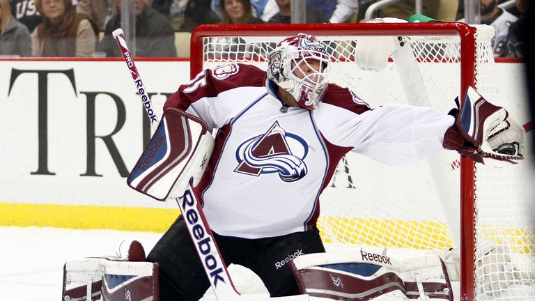 Jean-Sebastien Giguere made 34 saves