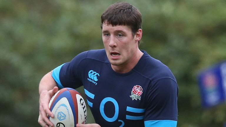 Joel Tomkins is ahead of schedule in his 15-man career