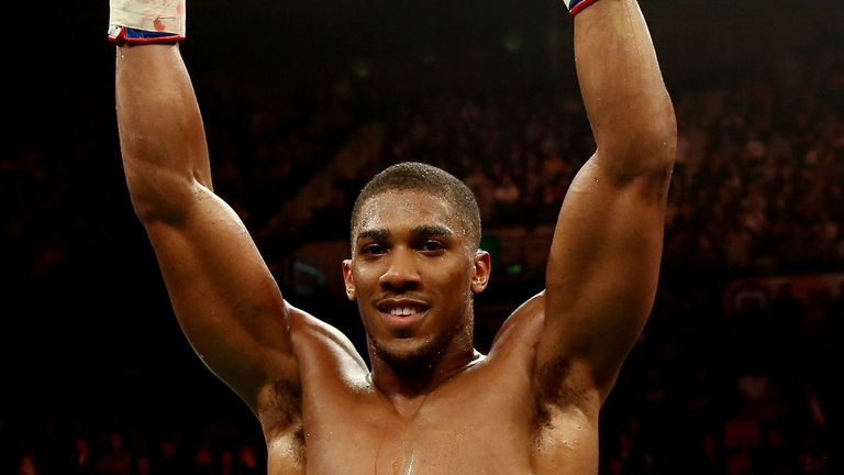 Anthony Joshua: Set for a busy run-in to Christmas