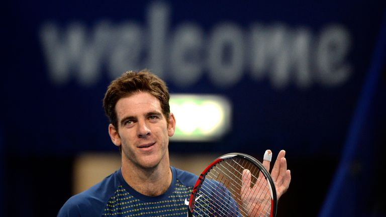Juan Martin del Potro: title defence remains on track in Basel