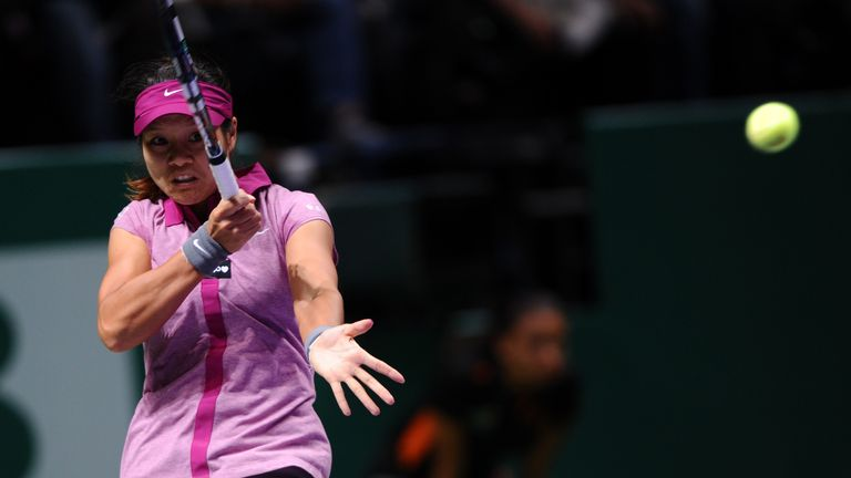 Li Na: Chinese player reached last four of WTA Championships for first time in her career