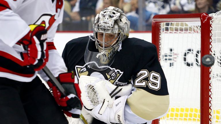 Marc-Andre Fleury made 27 saves for the Pittsburgh Penguins