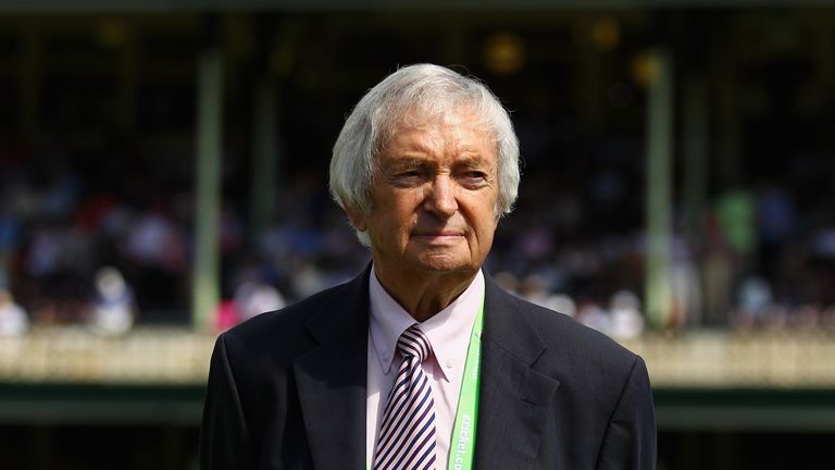 Richie Benaud: Is in hospital after car crash