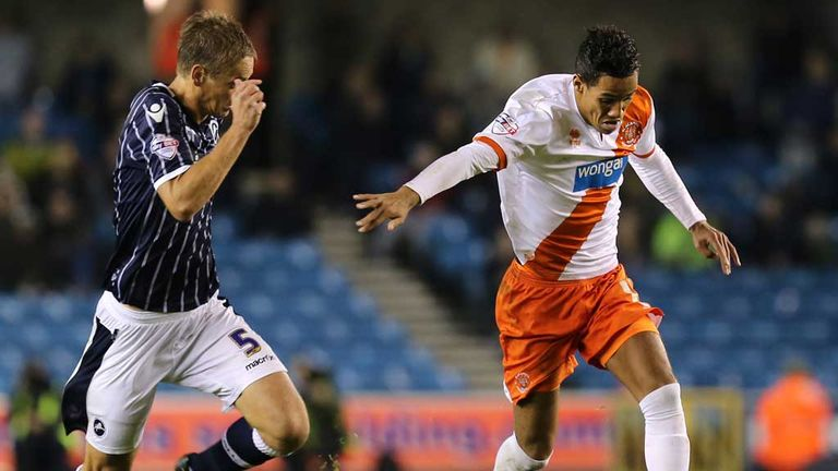 Tom Ince: Missed first-half penalty for visitors