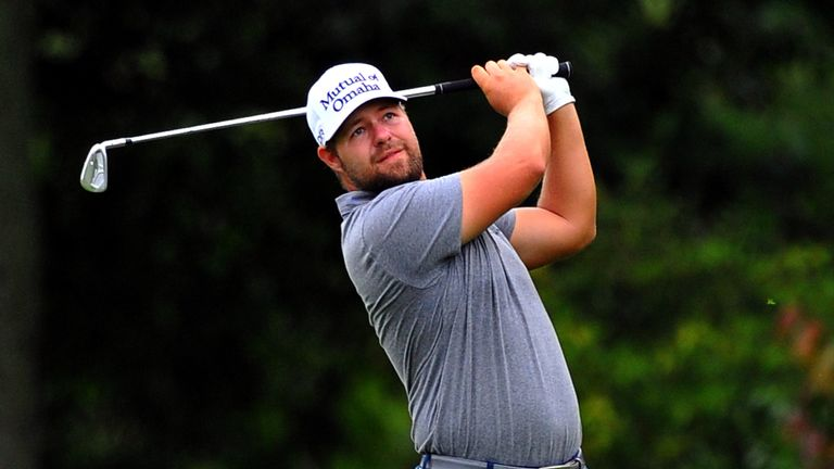 Ryan Moore: Faces Gary Woodland in a play-off on Monday