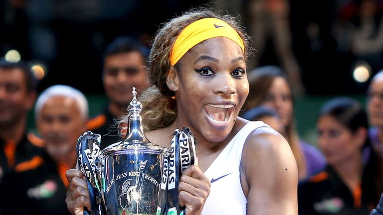 Serena Williams: Won the WTA Championships in its last year in Istanbul
