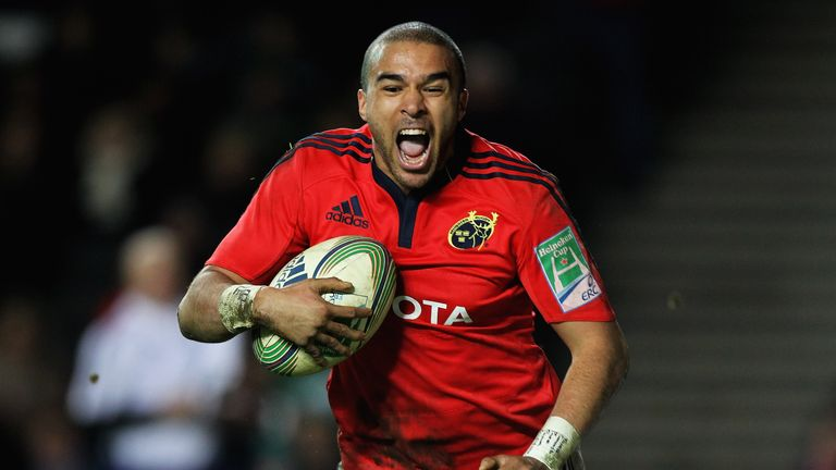 Simon Zebo: Hopes to be selected for Ireland's tour of Argentina in June