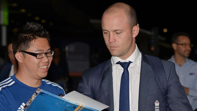 Jonathan Trott: Calling for strong start in Australia