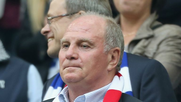 Uli Hoeness: Sentenced to three-and-a-half years in prison