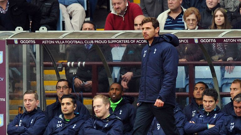 Andre Villas-Boas: Tottenham boss admits Premier League is very open