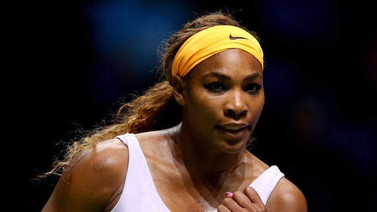 Serena Williams: Through to the semi-finals after three straight wins