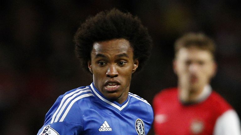 Willian: Looking to become a regular in the Chelsea starting XI
