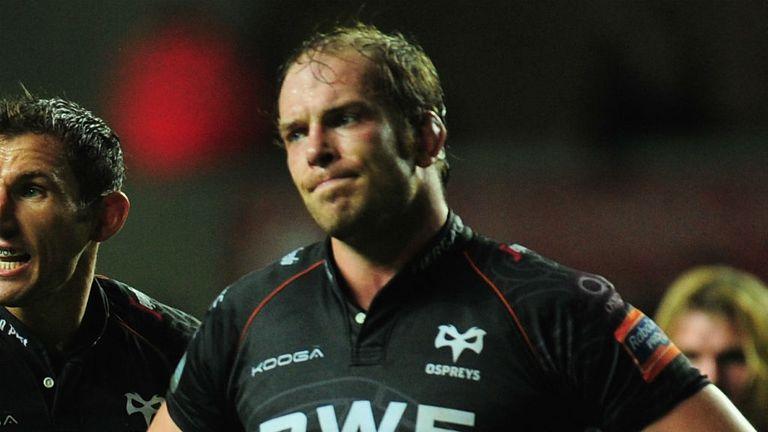 Alun Wyn Jones: Ospreys skipper could depart club next summer