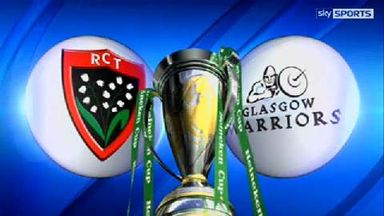 Toulon v Glasgow - Highlights