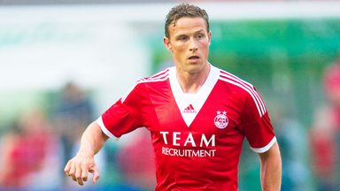 Chris Clark: Midfielder departs Aberdeen