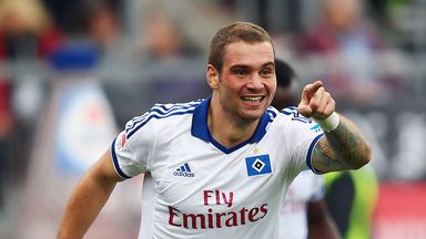 Pierre-Michel Lasogga: Impressing on loan at Hamburg