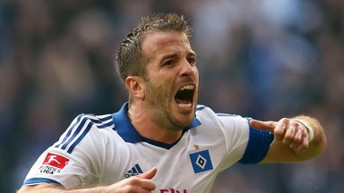 Rafael van der Vaart: Hamburg playmaker linked with a move