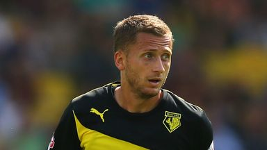 Almen Abdi: Suffered another setback on his road to recovery